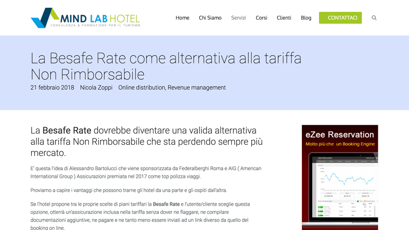 Besafe Rate su mindlabhotel.it
